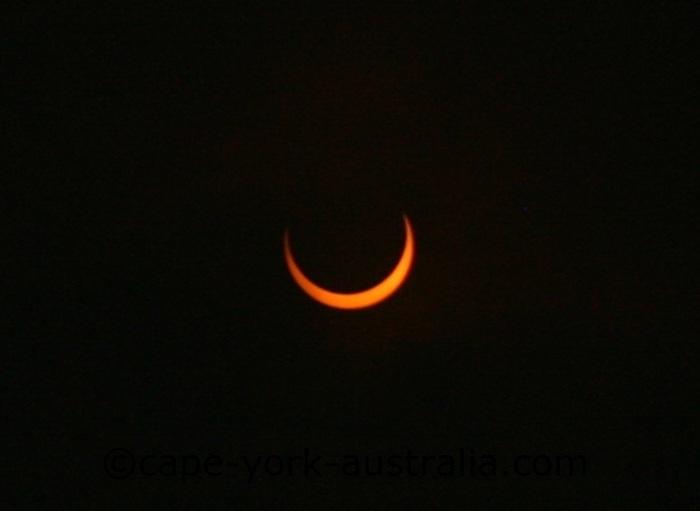 solar eclipse 2013 first half