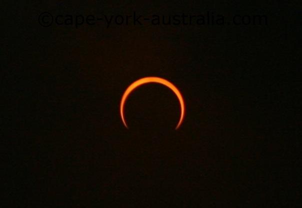 solar eclipse 2013 second half