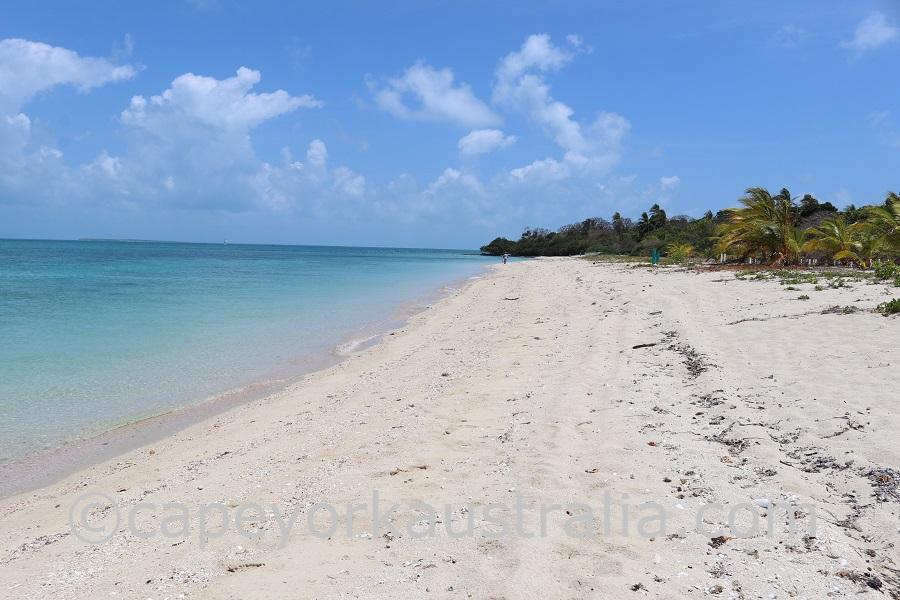 sue island beach
