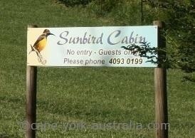 sunbird cabin kuranda speewah