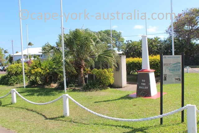 thursday island anzac monument