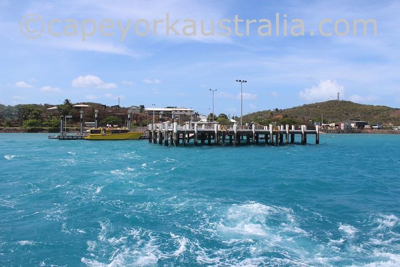 thursday island blue water