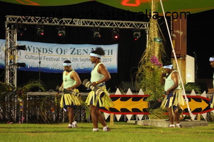 thursday island dancers