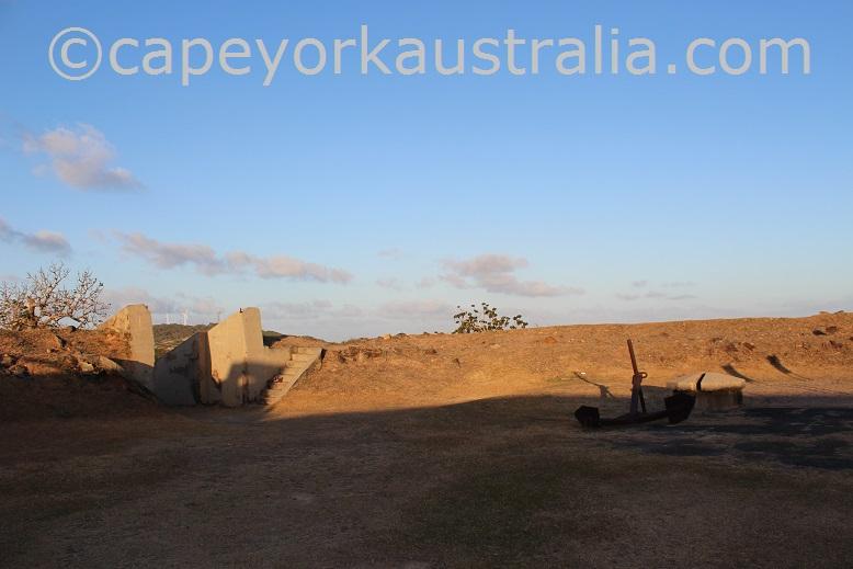 thursday island green hill fort gate