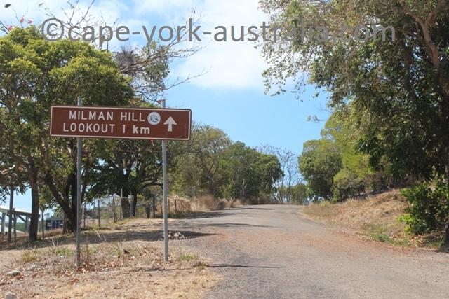 thursday island milman hill lookout