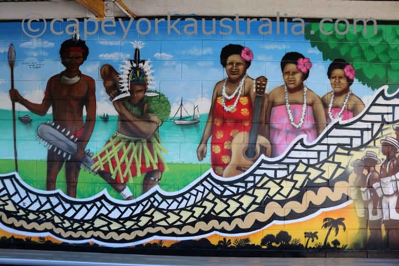 thursday island mural