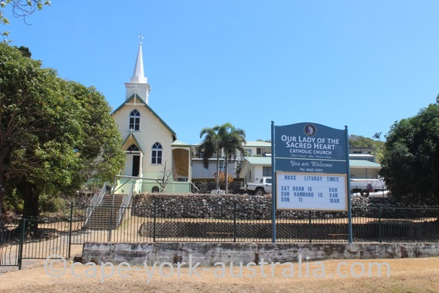 thursday island our lady of the sacred heart