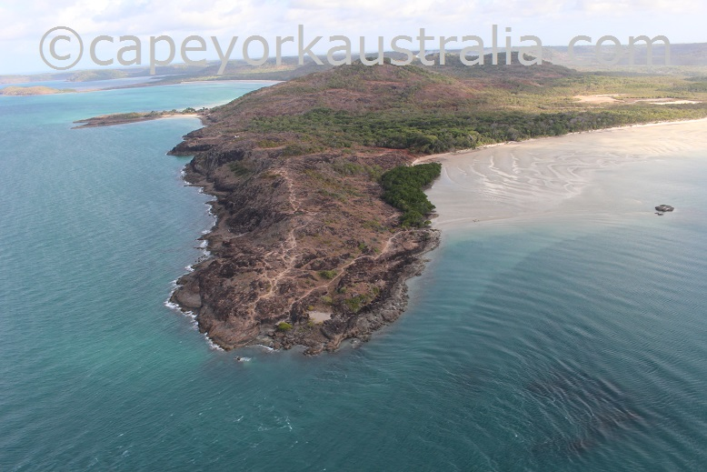 tip of australia aerial view