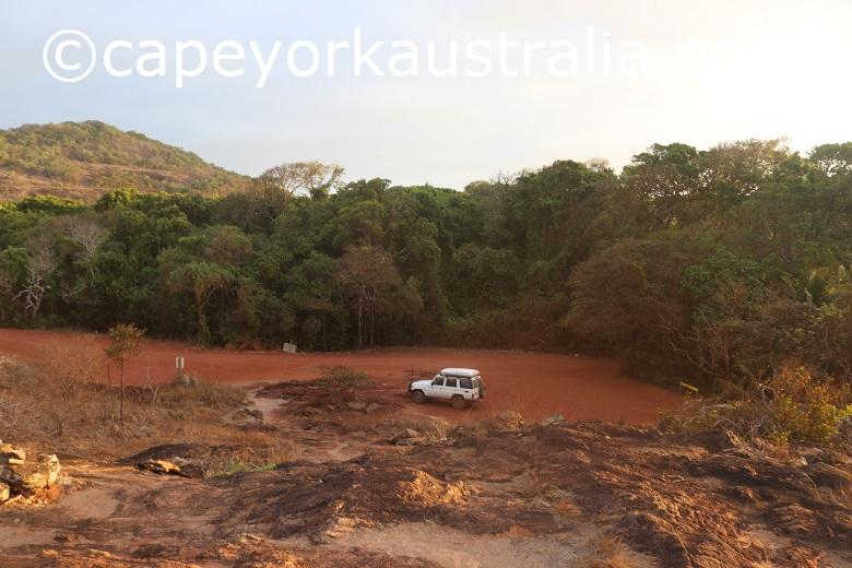 tip of australia car park