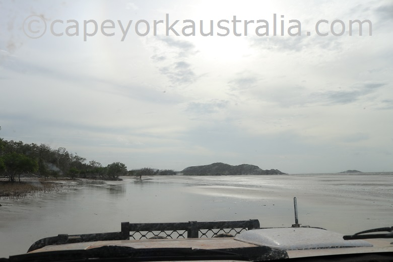 frangipani beach driving