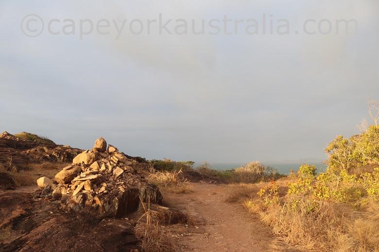 tip of australia top walk cairn