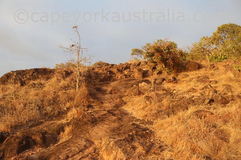 tip of australia top walk rocky