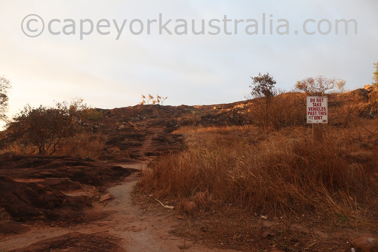 tip of australia top walk start