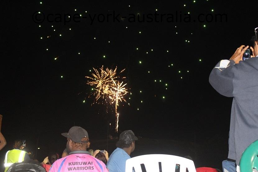 torres strait festival fireworks