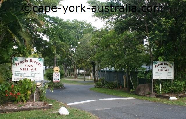 tropic breeze caravan park port douglas