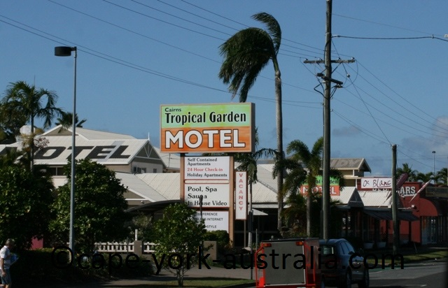 tropical garden motel cairns