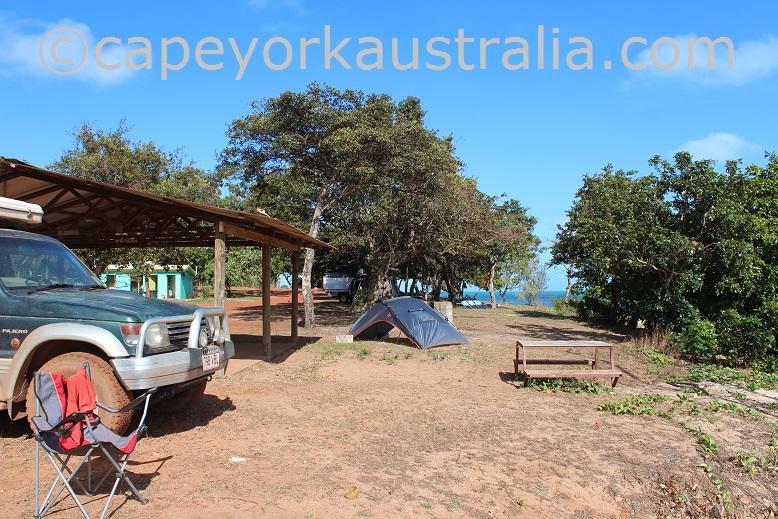 umagico beach camping