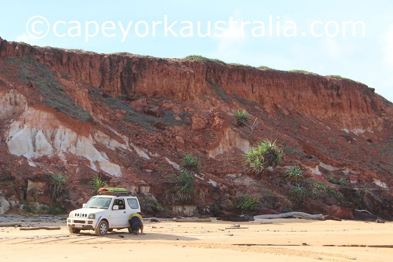 ussher point red cliffs