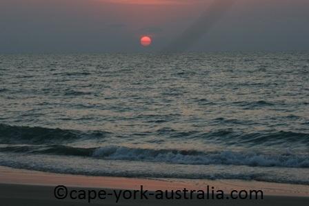 vrilya point sunset