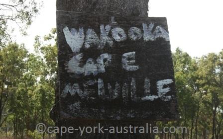 wakooka cape melville sign