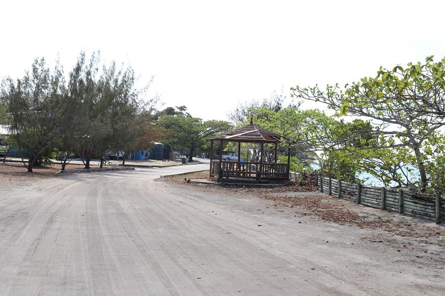 warraber island beach front street