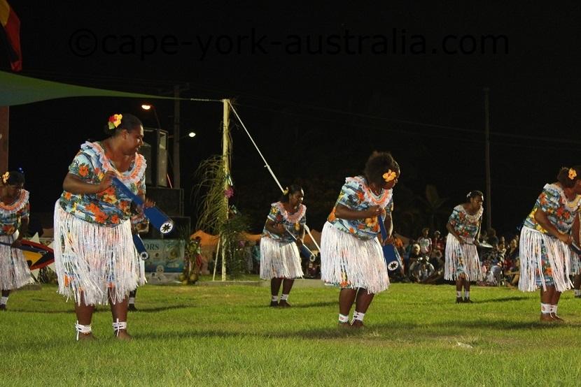 warraber island dancers