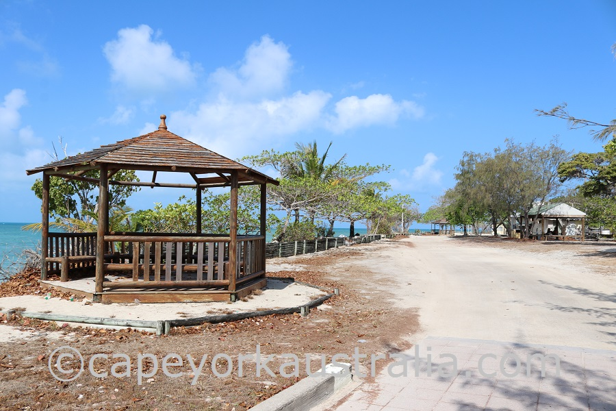 warraber island gazebo