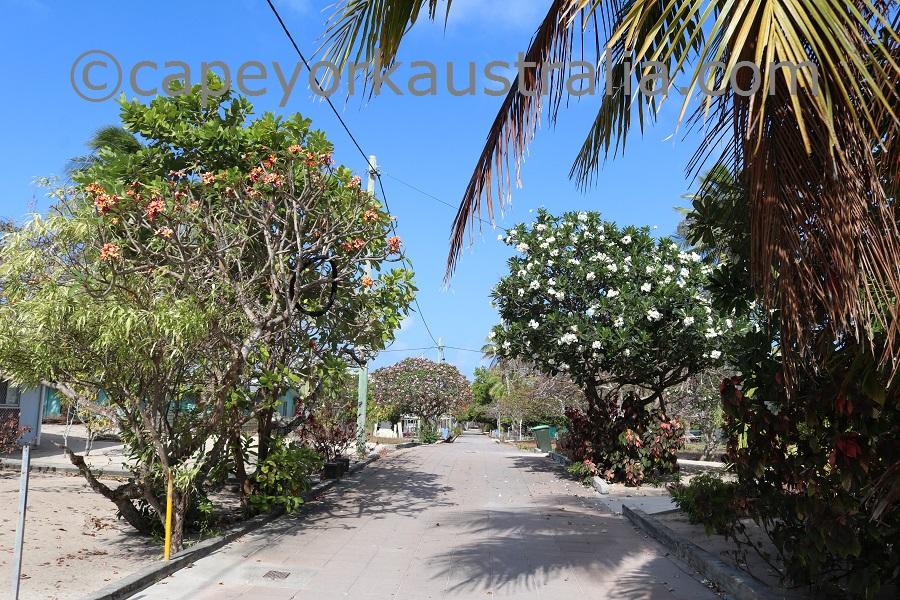warraber island street