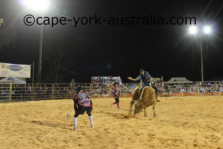 weipa bull ride adults