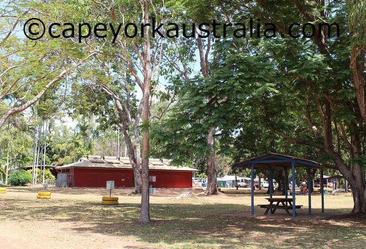 weipa camping ground amenities