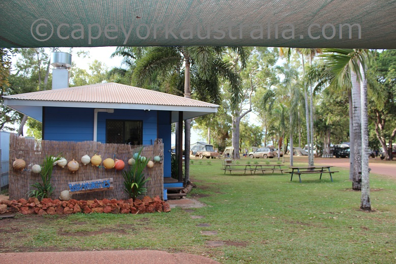 weipa camping ground barramunchies