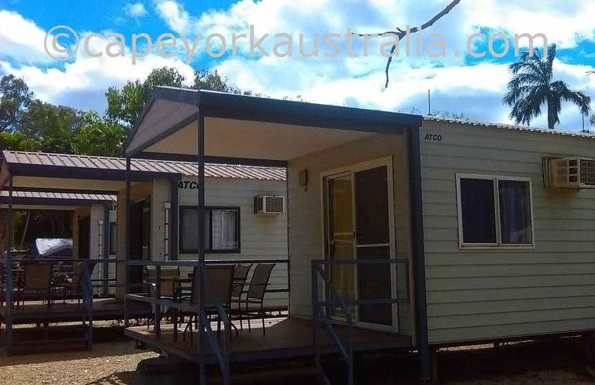 weipa camping ground cabins