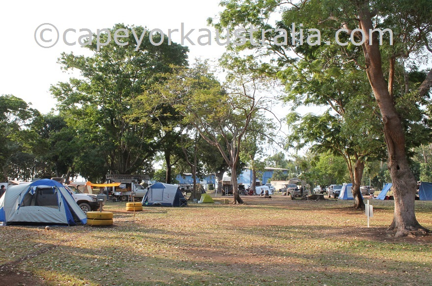 weipa camping ground camping