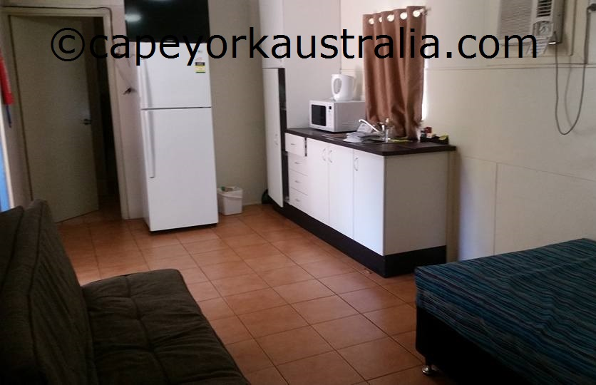 weipa camping ground ensuite donga