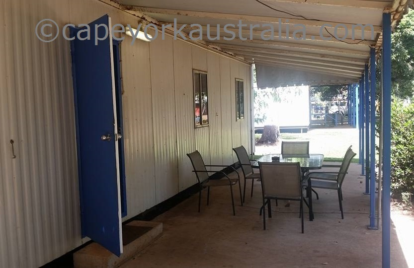 weipa camping ground ensuite dongas