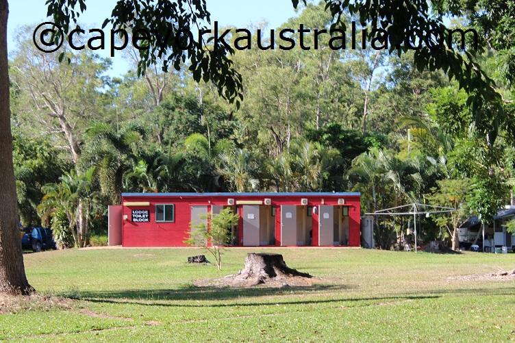 weipa camping ground lodge amenities