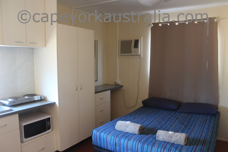 weipa camping ground non ensuite donga room