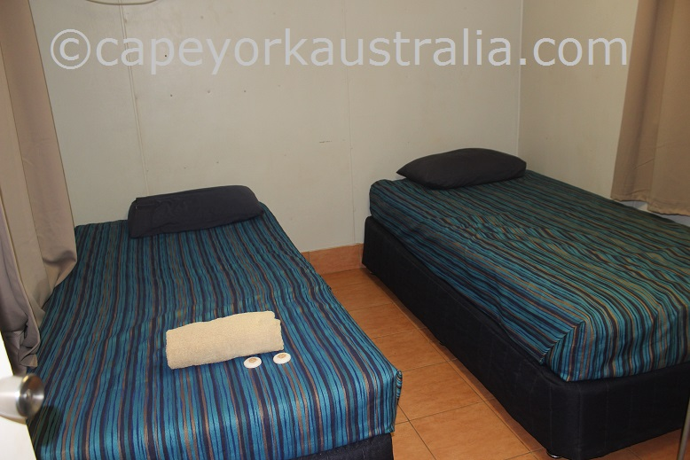 weipa camping ground non ensuite donga rooms