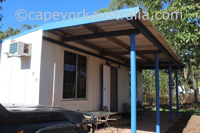 weipa camping ground non ensuite dongas