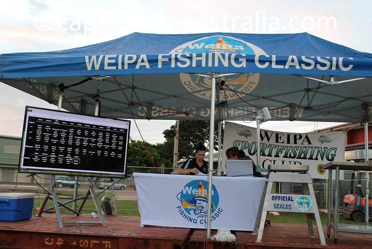 weipa fishing classic results