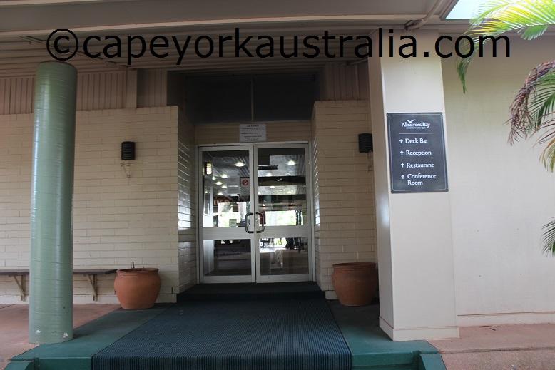 weipa hotel inside