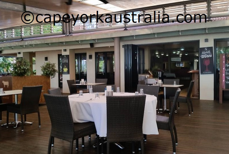 weipa hotel dining