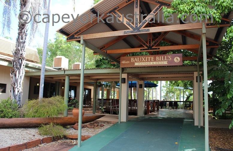 weipa hotel restaurant