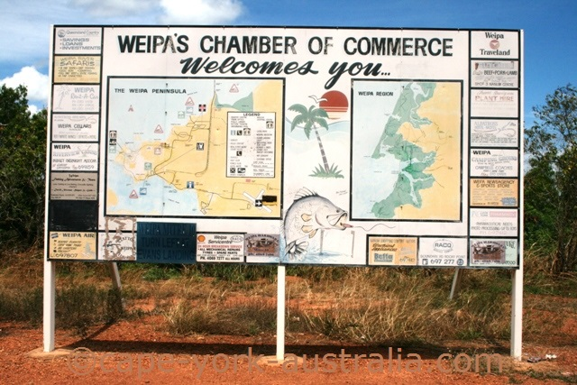 weipa map