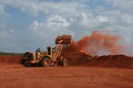 weipa mining