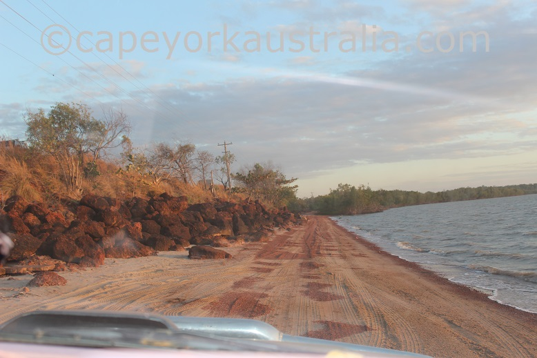 weipa mission river beach drive