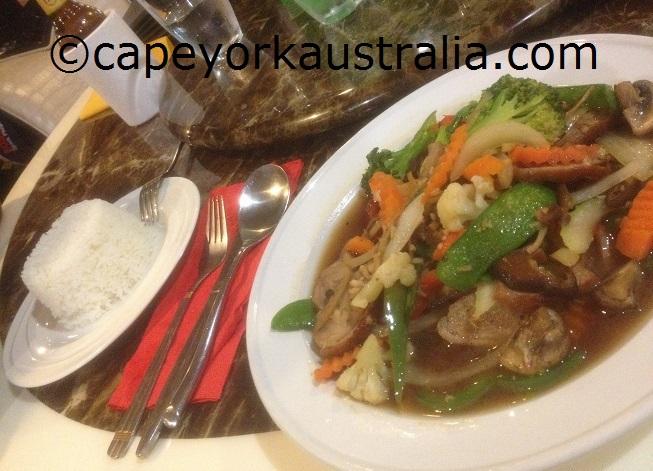 weipa resort dinner