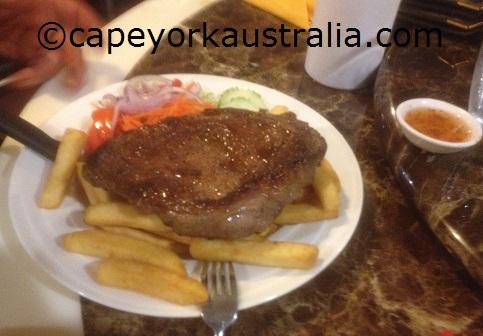 weipa resort lunch