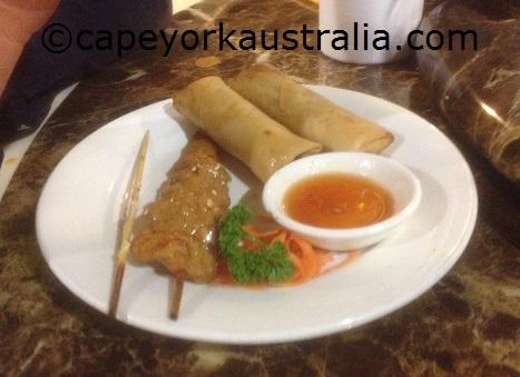 weipa resort meals