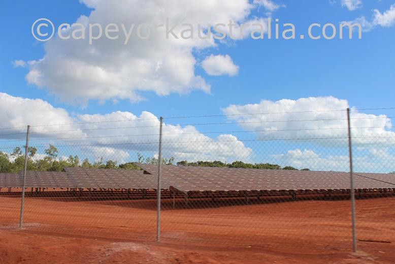 weipa solar panels drive